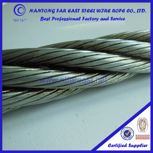 For Hoisting And Towing,Wire Rope 6*19s Steel Core,,Grease Lubricant ...