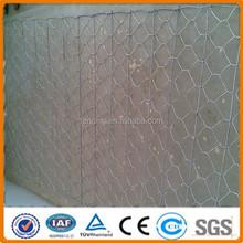 Anping Hexagonal decorative chicken wire mesh/hexagonal gabion box