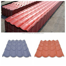 PVC material corrugated plastic roofing sheet