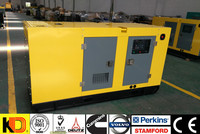 50kw Container Canopy type 62.5kva diesel generator set powered by weichai