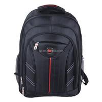 2015 new fashion nylon good quality black laptop bag cheap backpack 1923