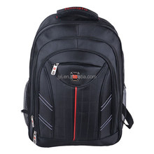 2015 nuova moda nylon buona qualità nero borsa per portatile zaino a buon mercato 1923