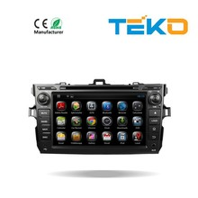 KitKat Android 4.4 car dvd player for toyota corolla verso