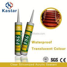 clear siliconized metallic acrylic paint high quality,acrylic sealant