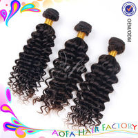 Natural good quality human hair weave for black women