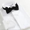 OEM service American & European men/boy french shirts slim fit long sleeve shirts