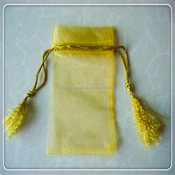 Gold Color Organza Gift Pouch/Bag