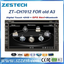 ZESTECH Touch Screen Double din Auto DVD GPS AM FM RDS TV IPOD for Chery old A3