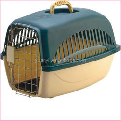 Large portable dog crate pet carrier cage box airline approved