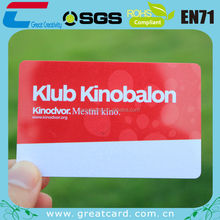 Special offer plastic membership card for gifts