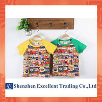 Fashion Design Different Bottle Pattern Short Sleeves T-shirt