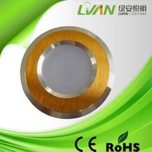 High brightness 3000-6500K Aluminium led cob downlight 5w