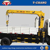 cheap price SQ3.2SA2 swing telescopic boom small mounted crane for truck sale