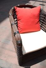 outdoor garden furniture round rattan coffee set / wicker chair table chair patio furniture