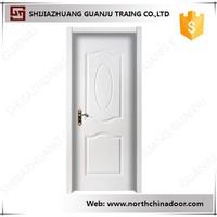 Swing Open Style and Single Internal PVC Door Design