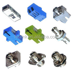 Simplex SC/LC/ST/FC multimode single mode fiber optical adapter