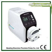 High quality peristaltic filling juice pump,low price dosing peristaltic pump water mixer 12v