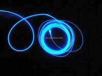 Side Glow Fiber Optic Lighting, Solid Core Plastic Optical Fiber