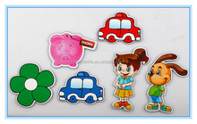 2012 hot sell promotional gifts paper Fridge magnet sticker