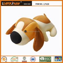 2015 new design hotsell dog toy/plush diy animal shaped pillow /plush animal dachshund shaped pillow