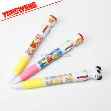 pen plastic cartoon pen duck /panda shaped /gift/creative plastic pen