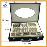 christmas fork and knife set personalized stainless steel swiss home 72pcs cutlery set with gift box