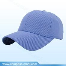 MENS WOMENS STRIPPED TWILL COTTON SPORTS CAP