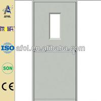 Zhejiang AFOL fire door with glass insert