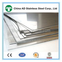 China 430 1mm thickness stainless steel sheet with 2b ba surface