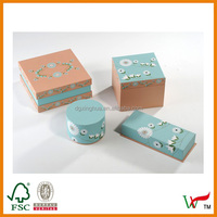 Paper custom gift boxes small quantity wholesale