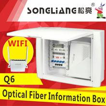 Q6 ftth fiber optical multimedia information box