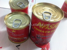 2015 New products Factory best tomato sauce brands hot cold break brix 28-32% 3000gr tomato paste