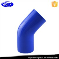 china manufacturing auto turbo 45 degree silicon rubber reinforced hose car spare part