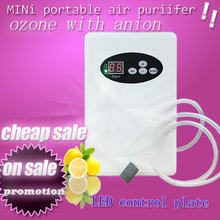 house hold mobile CE Ozone generator air water timer , household ozonator sterilization / remove bad smell dog odor