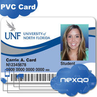 Wholesale personality printing photo ID card/employee/school student photo id card