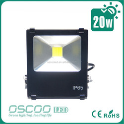 shenzhen led tun hot selling garden light20w finned led floodlight Meanwell driver