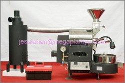CE approved commercial 30kg gas type Coffee bean roaster with best price
