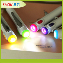 customized led logo projection pen made in China