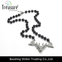 high quality Stainless Steel durable link Necklace with charm butterfly pendant