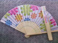 Luxury More Colors Personalized SilK Fan Wedding Decoration