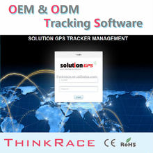 Advance wireless car alarm cell phone gps tracking software /gps tracking system by Thinkrace