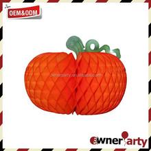 Hot Sale High Quality Beautiful Paper Pumpkin Decoration for Halloween