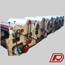 New Design High Output Cotton Waste Recycling Machine GM500 Iron Roller