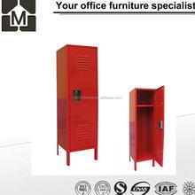 Factory direct price recessed door lock small metal foot locker /half height metal locker