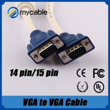 3 meters VGA cable Shielded VGA to VGA Cable China Manufacturer & Supplier