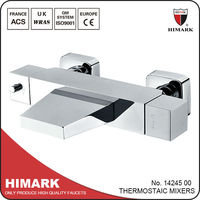 Thermostatic shower wall mounted bath shower mixer taps
