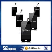 Replacement LCD Screen Display Touch Panel Digitizer Assembly Full Set for iPhone 5S Black White