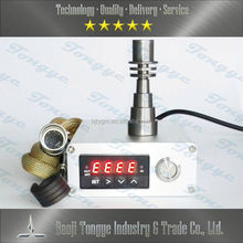 new product silver digital electronic nail oil vaporizer