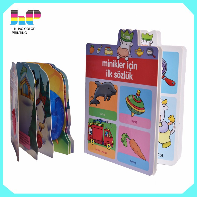 Pop-up children cardboard book printing,hardcover Pop-up children cardboard book printing,High quality coloring  hardcover Pop-up children cardboard book printing