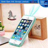 2014 Rabbit Ear Mobile Phone Case for Iphone 5,Cute Popular for iPhone 5 Rabbit Case